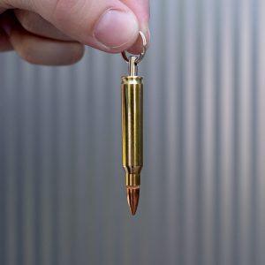 223-Remington-Patrone-Vollmantel-Geschoss-Schluesselanhaenger