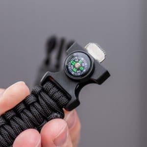 Kompass-Armband-Survival