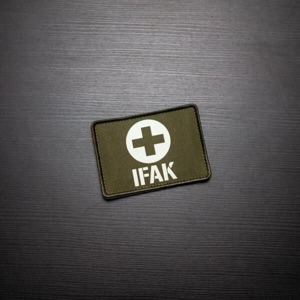 IFAK-Medic-Patch-Oliv-Glow-in-the-Dark-Shop