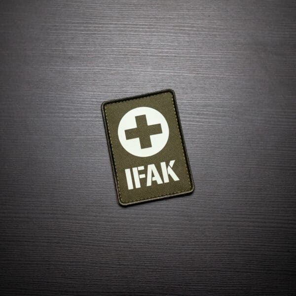 IFAK-Medic-Patch-Olive-Glow-in-the-Dark-Shop