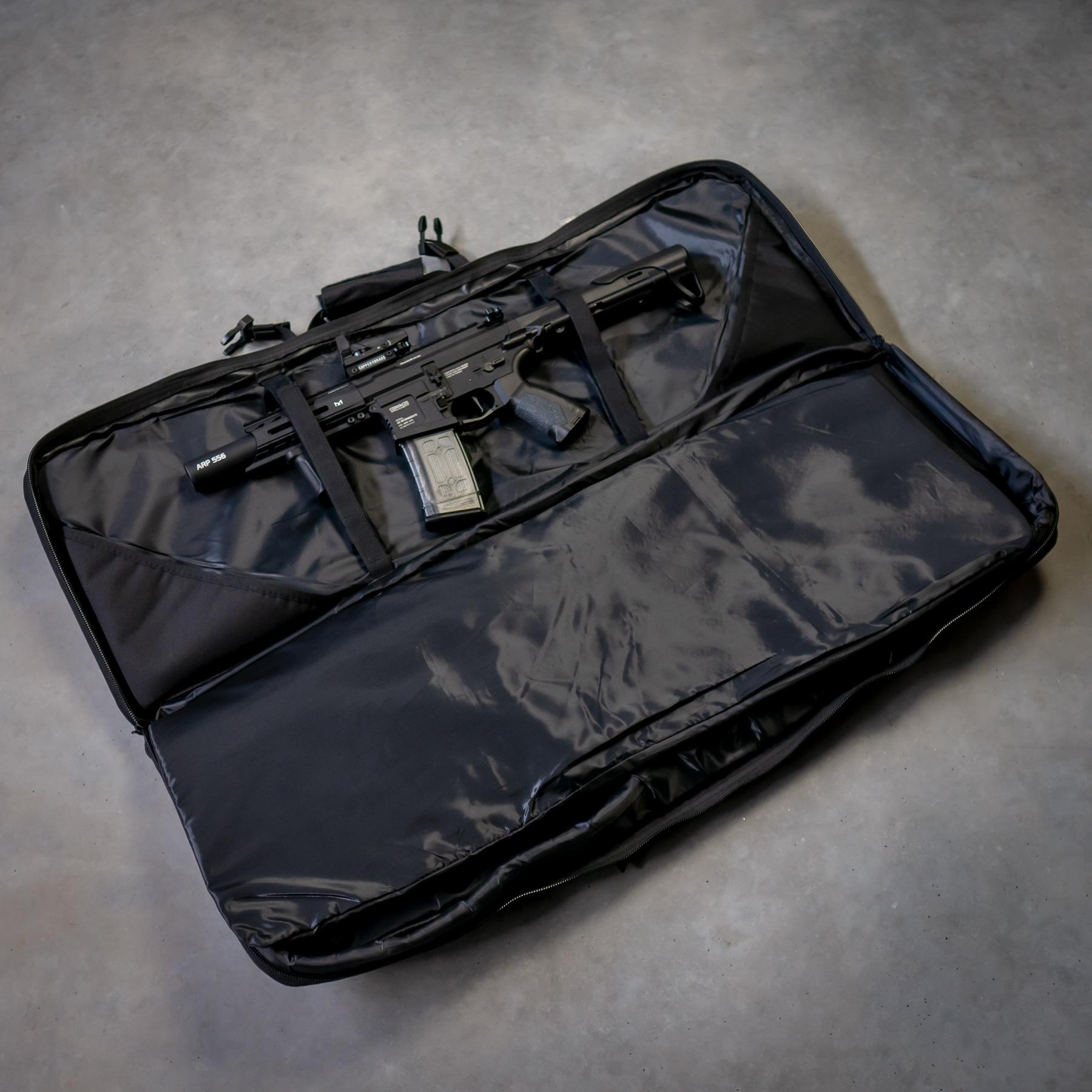 Airsoft-Tasche-Gewehr-schwarz-Shop