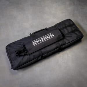 Gewehrrucksack-Schwarz-fuer-zwei-Langwaffen-mit-eigenem-Logo-Shop