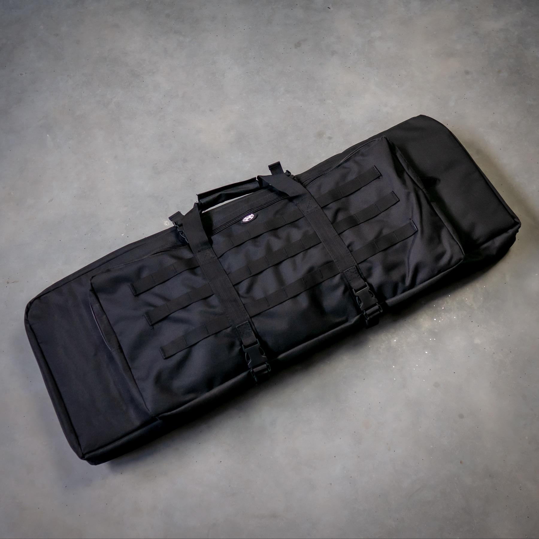 Gewehrtasche-Schwarz-fuer-zwei-Langwaffen-Shop