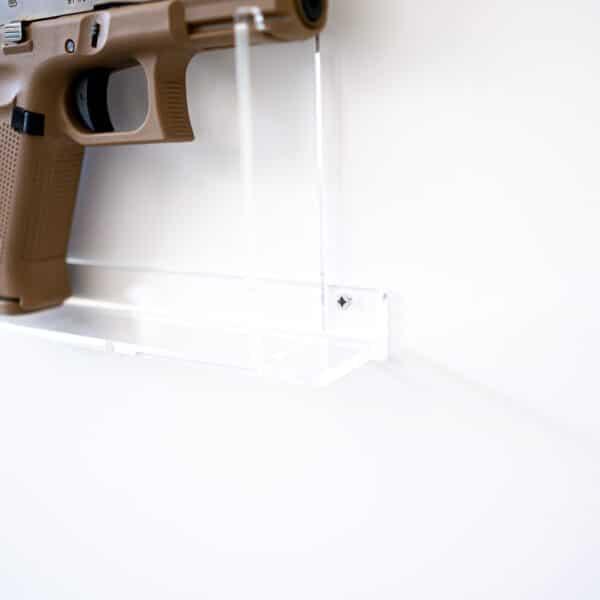 Kurzwaffen-Wandhalter-Plexiglas-Shop